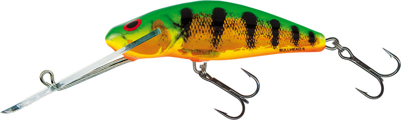 BULLHEAD SUPER DEEP RUNNER - 4.5cm Holographic Fire Tiger