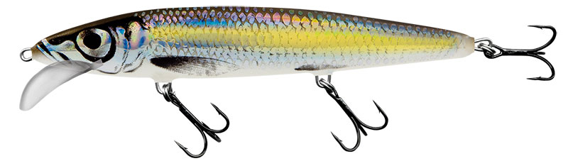 WHACKY FLOATING - 9cm SILVER CHARTREUSE SHAD