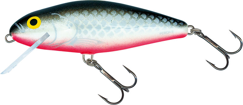 PERCH SUPER DEEP RUNNER - 8cm GREY SILVER