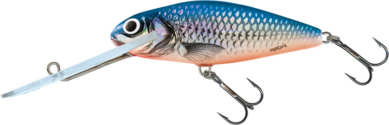 PERCH SUPER DEEP RUNNER - 8cm SILVER BLUE