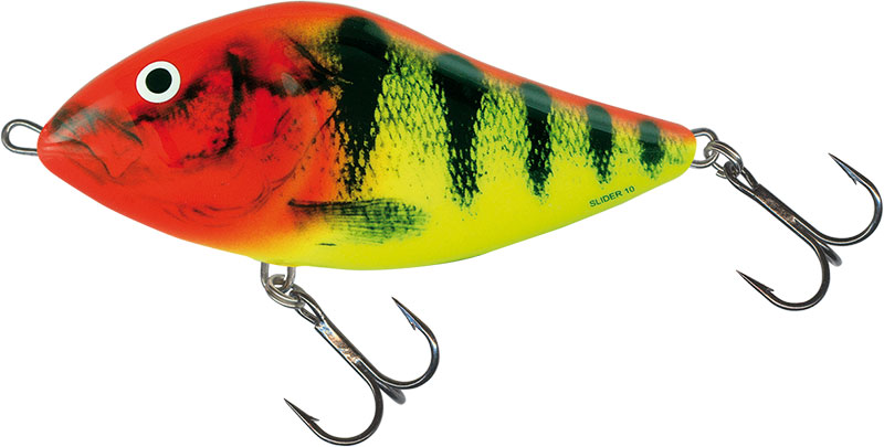SLIDER FLOATING - 5cm CLOWN YELLOW PERCH