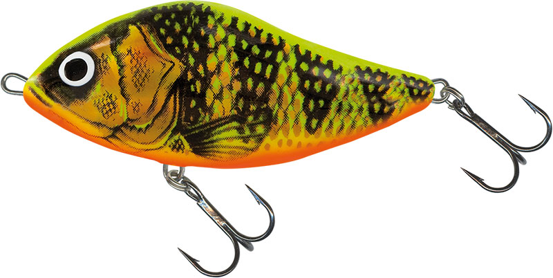 SLIDER FLOATING - 6cm GOLD FLUO PERCH