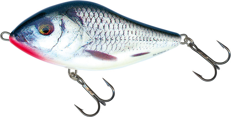 SLIDER FLOATING - 12cm REAL GREY SHINER