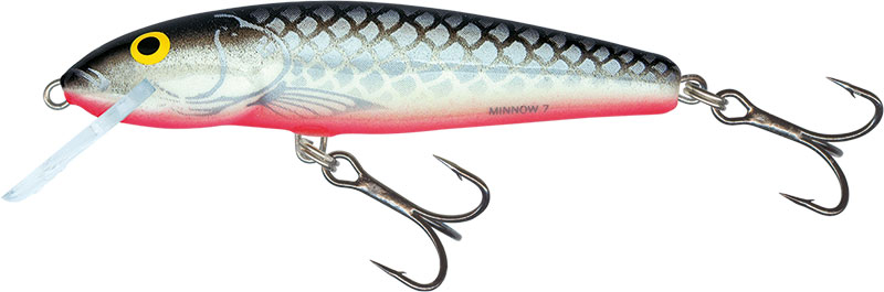 MINNOW FLOATING - 9cm GREY SILVER