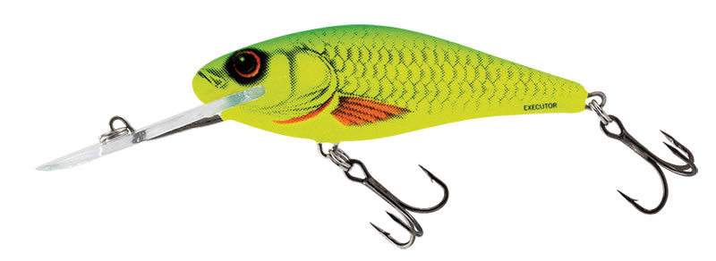 EXECUTOR SUPER DEEP RUNNER 7cm Yellow Dace