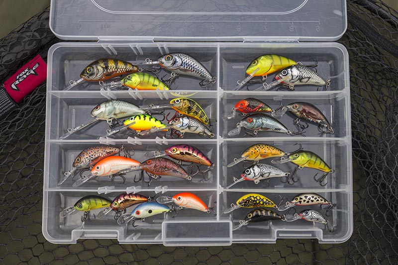 Shallow, medium and deep diving Hornets and Rattlin' Hornets, in a variety of colours
