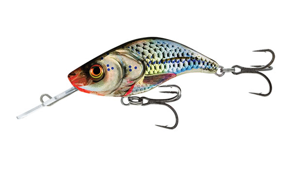 Sparky Shad 4 Sinking Silver Holographic Shad