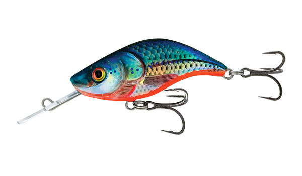 Sparky Shad 4 Sinking Blue Holographic Shad