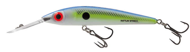 Rattlin Sting 9 Deep Runner Sexy Shad