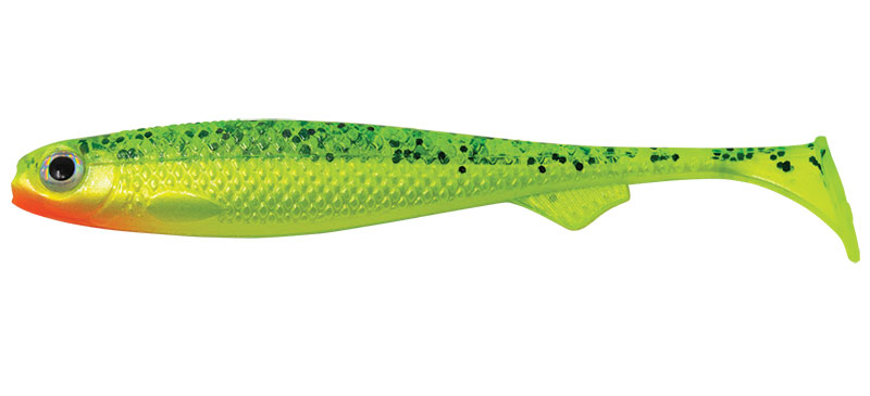 Salmo Slick Shad Lemon Tiger UV 5pc