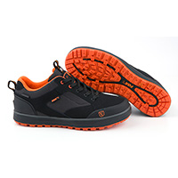 Fox black orange shoe  sz  9  / 43