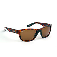 Fox Chunk Sunglass Tortoise/Brown lense