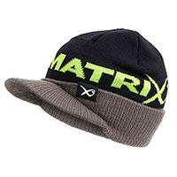 Matrix peaked beanie