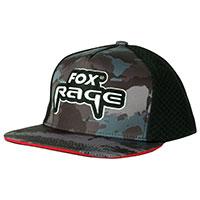 Rage Camo flat peak Trucker cap
